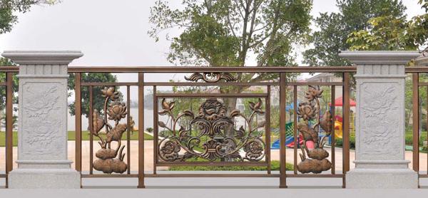 别墅铝艺围栏为什么应用那么广泛?