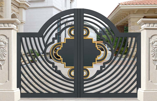 铝艺庭院门厂家汉仁小编分析铝艺大门受欢迎的原因