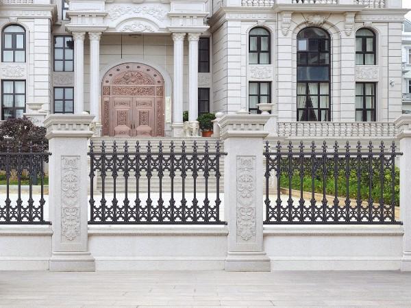 别墅庭院铝合金护栏