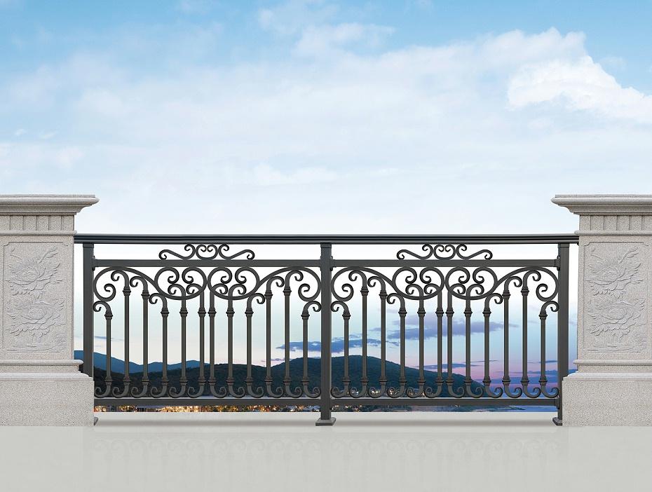 简约庭院铝艺围栏
