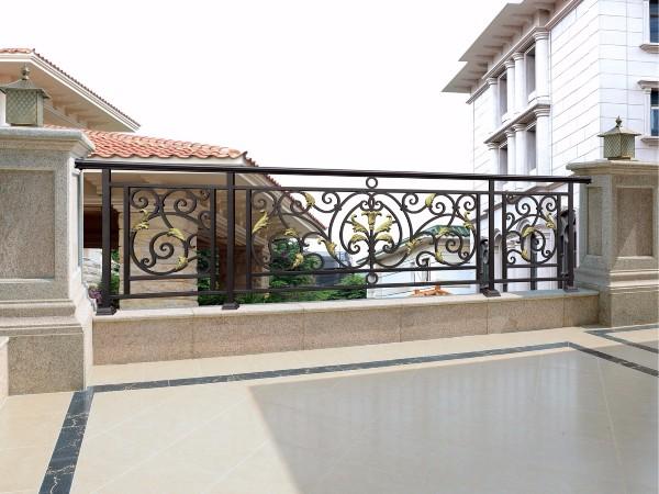 时尚欧式阳台铝艺围栏