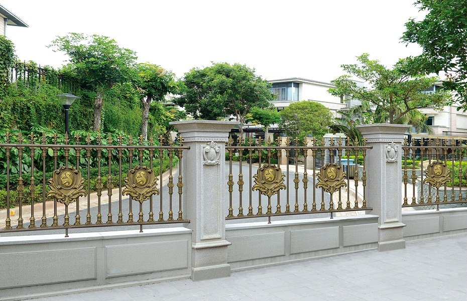 欧式小区铝合金护栏