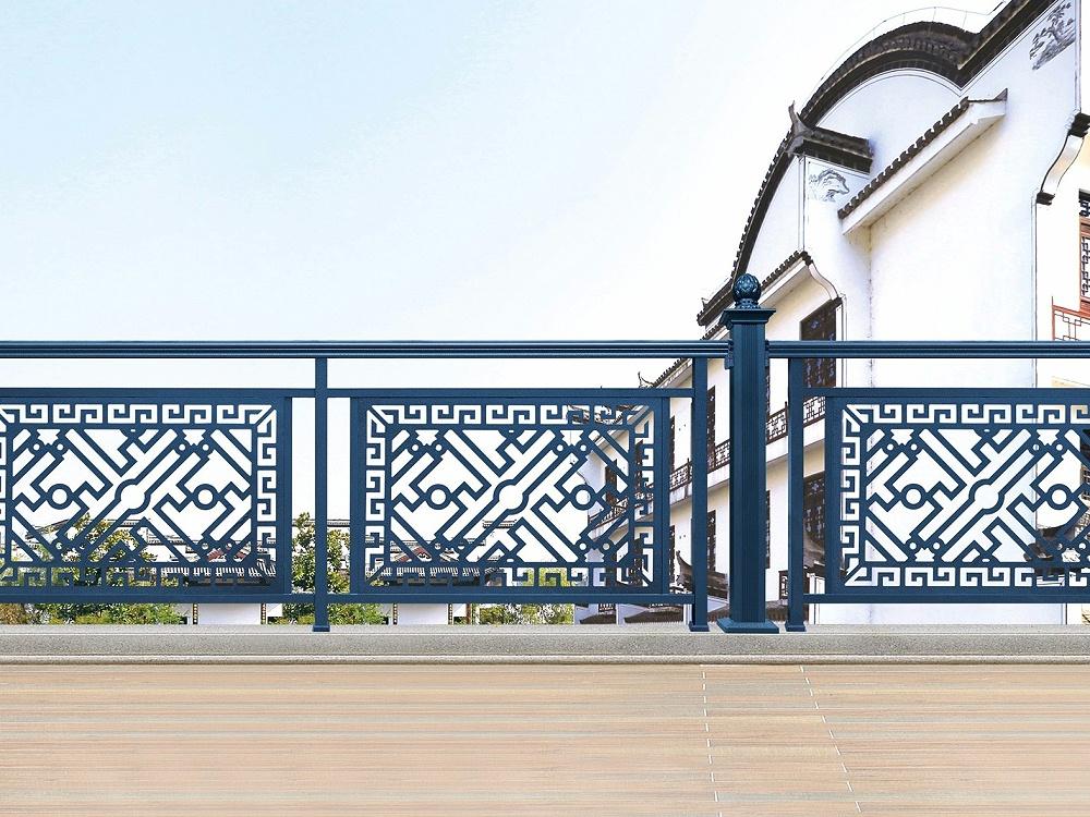 小区欧式铝合金护栏
