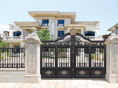 铝艺别墅门是现在时代的一个新型产品