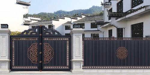 铝艺别墅门有什么优势,为什么会替代铁艺门?
