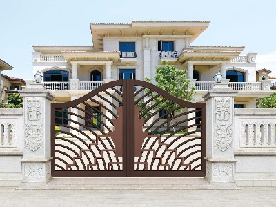 拉丝工艺在铝艺庭院大门中有哪些应用?
