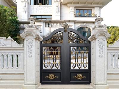 地中海风格别墅大门有哪些特点 定制加工价格是多少?