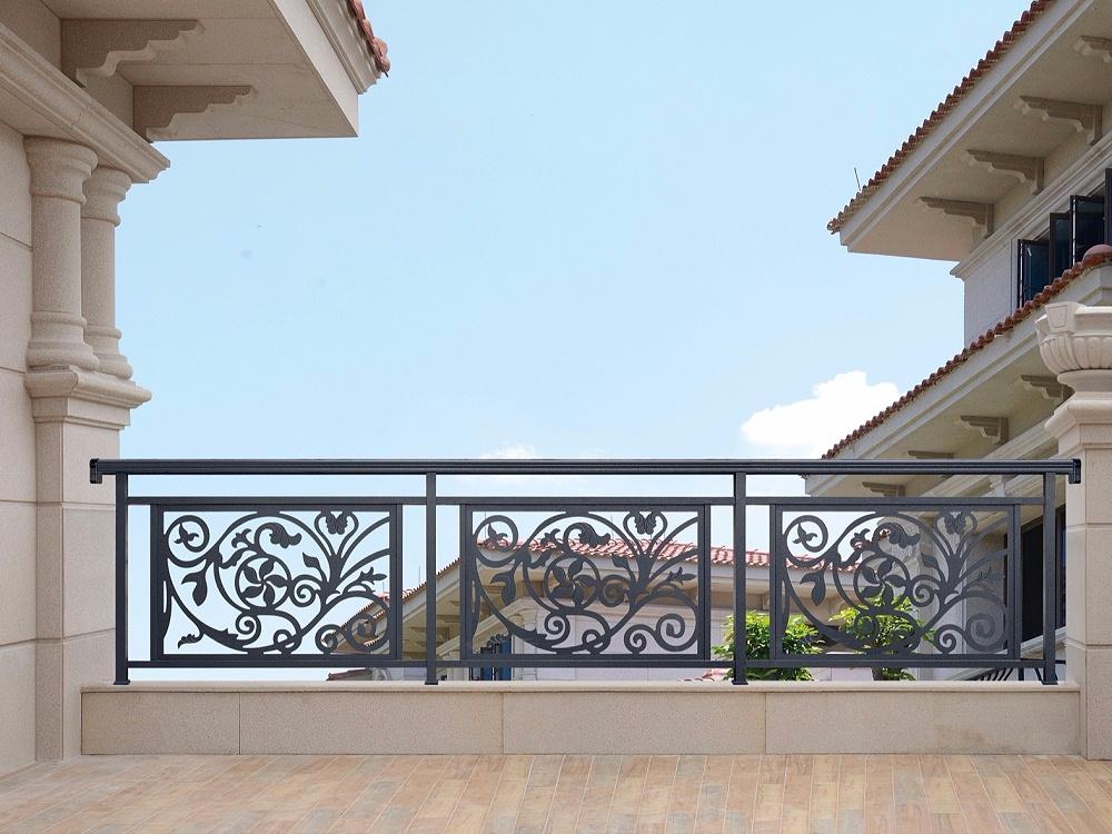 别墅阳台铝合金护栏