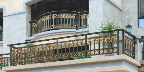 阳台铝艺扶手装多高才合适呢
