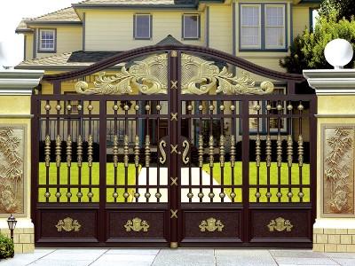 使用铝艺别墅庭院大门的好处有哪些?