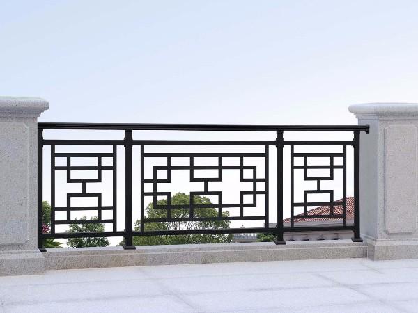 庭院中式铝艺围栏