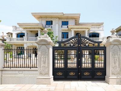 铝艺庭院大门变形之后该如何解决?