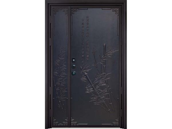 铝艺入户防爆门铝艺铸铝门