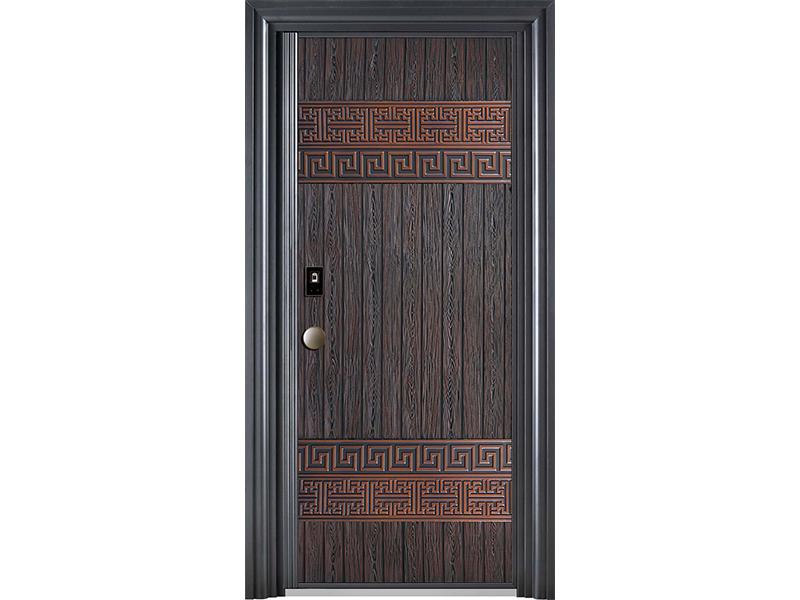 定制门铸铝门防爆门 铝艺大门铸铝门