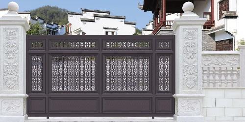 铝艺庭院大门在使用过程中发现其有变形迹象该怎么办?
