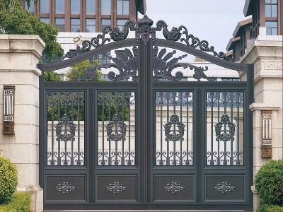 铝艺庭院大门如何做到脱颖而出