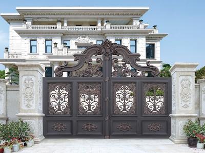 别墅大门规定尺寸是多少 适合安装哪种材质大门?