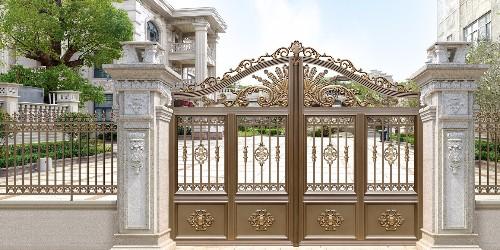 铝艺庭院大门设计的要求有哪些?