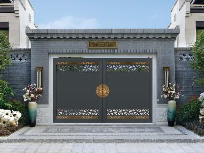 为什么说铝艺别墅大门性价比远远高于铜门和铁门