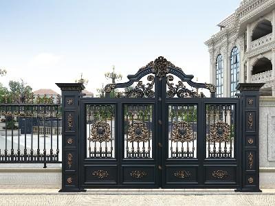 别墅大门决定的质量是关键因素是哪些?