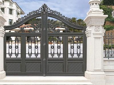 铝艺别墅门铝铸件铸造技术是怎样的?