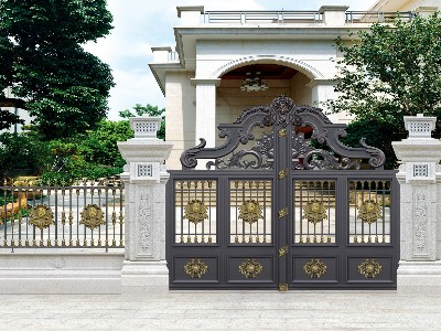 别墅大门的款式怎样设计好看?