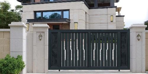 汉仁让铝艺庭院大门成为一种彰显身份的风尚