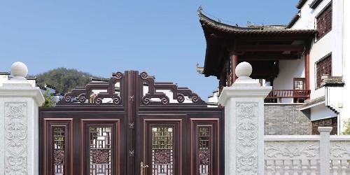 如何做好铝艺庭院大门的代理商?