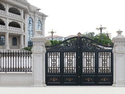 铝艺别墅门的卓越性是什么?