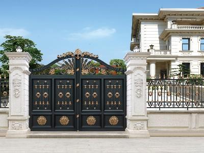 满意度100%的铝艺别墅门的案例是怎样的?