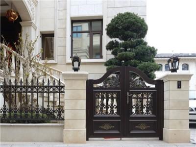 铝艺别墅大门焊接和组装有哪些区别!