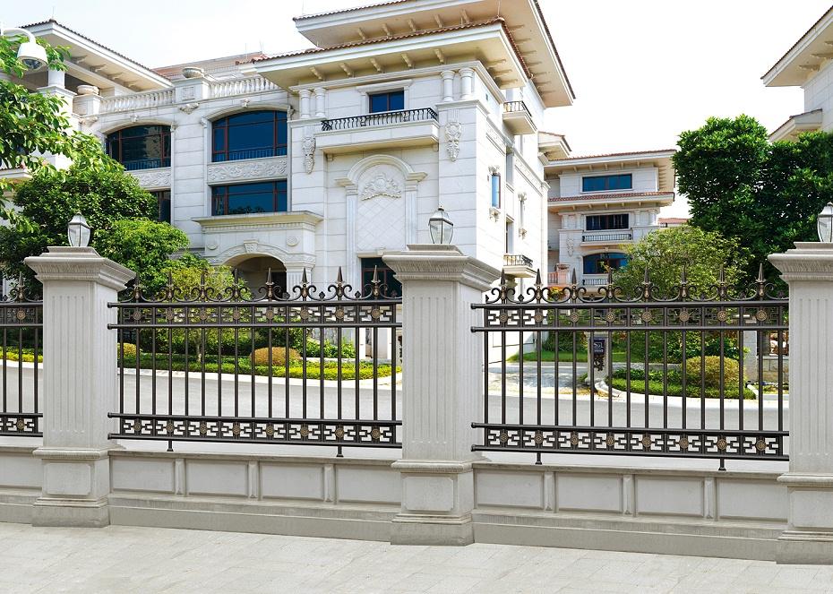欧式豪华庭院铝艺围栏
