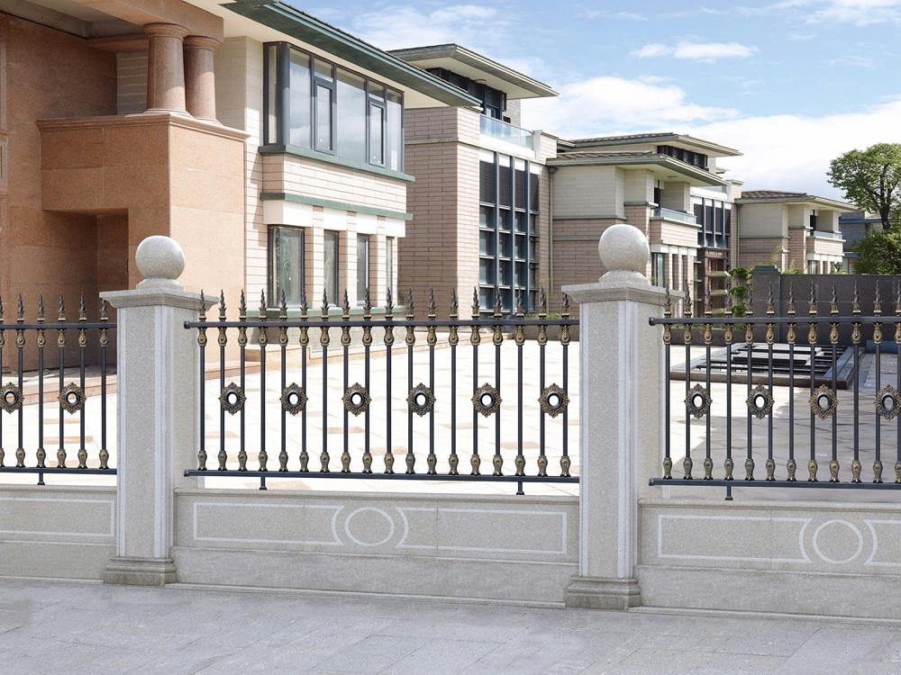 欧式别墅铝艺围栏