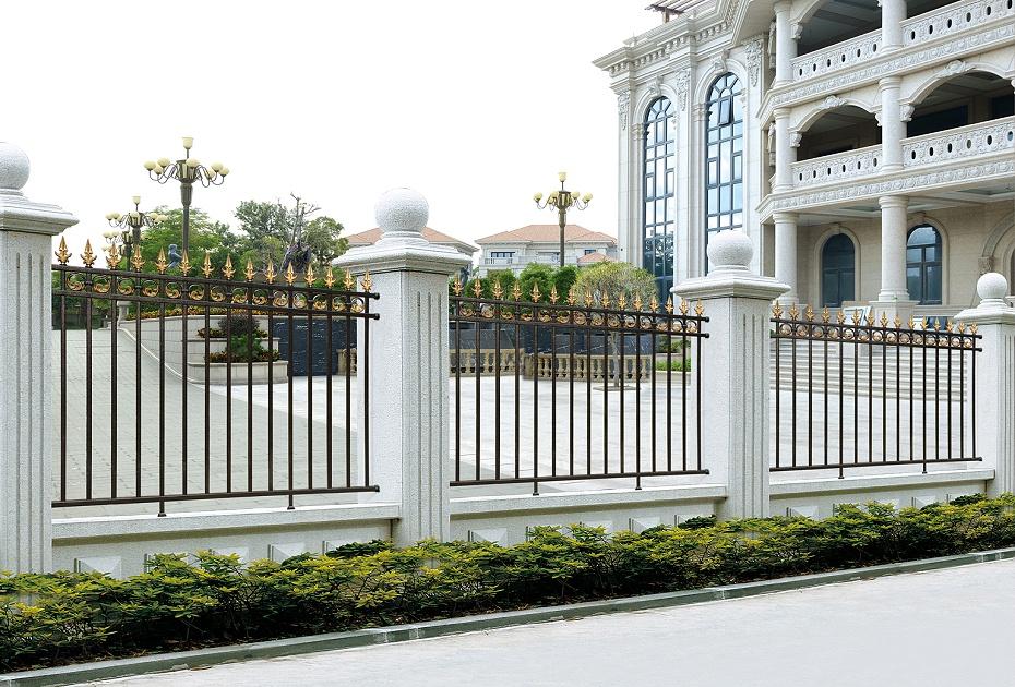欧式别墅简约铝艺围栏