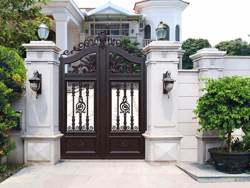 庭院别墅铝艺小门