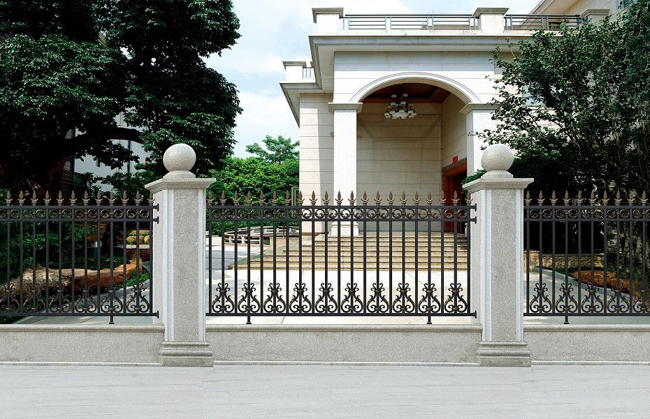 欧式庭院铝合金围栏