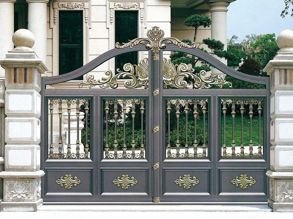 欧式庭院铝合金大门