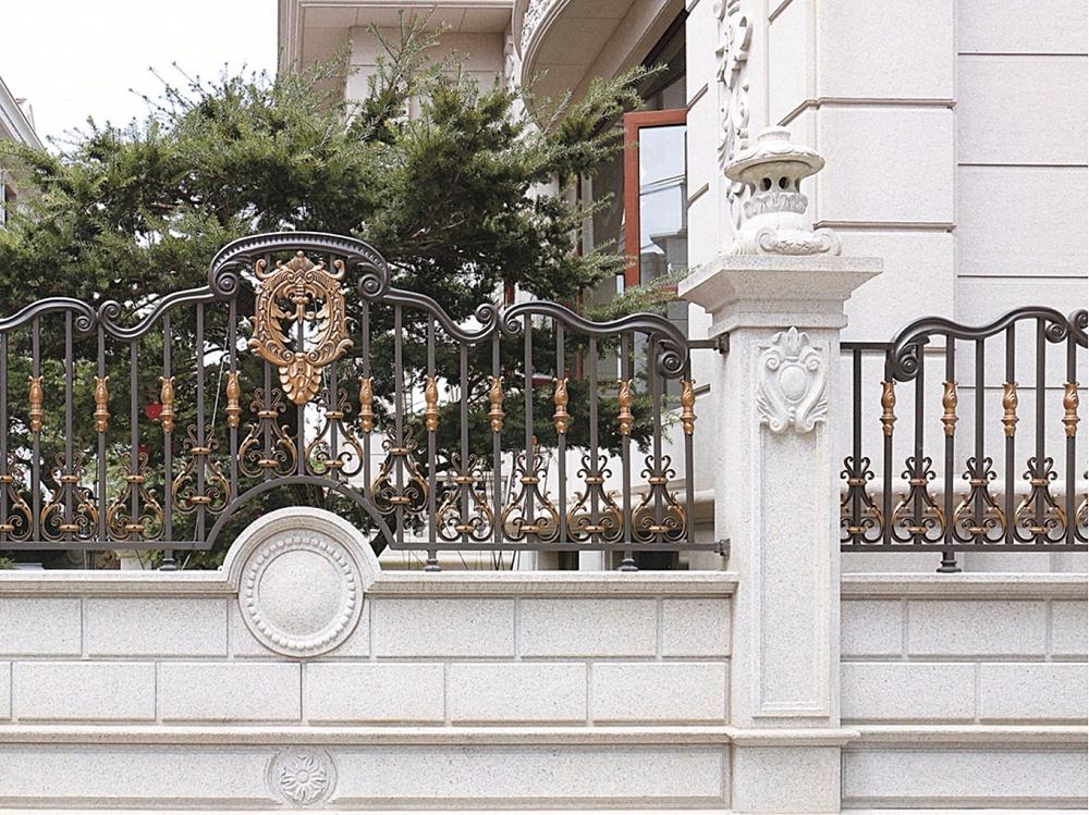 别墅小区铝艺围栏