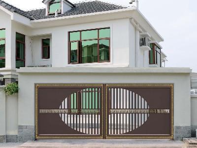 铝艺庭院大门的设计多元化组合,简直美得辣眼睛!