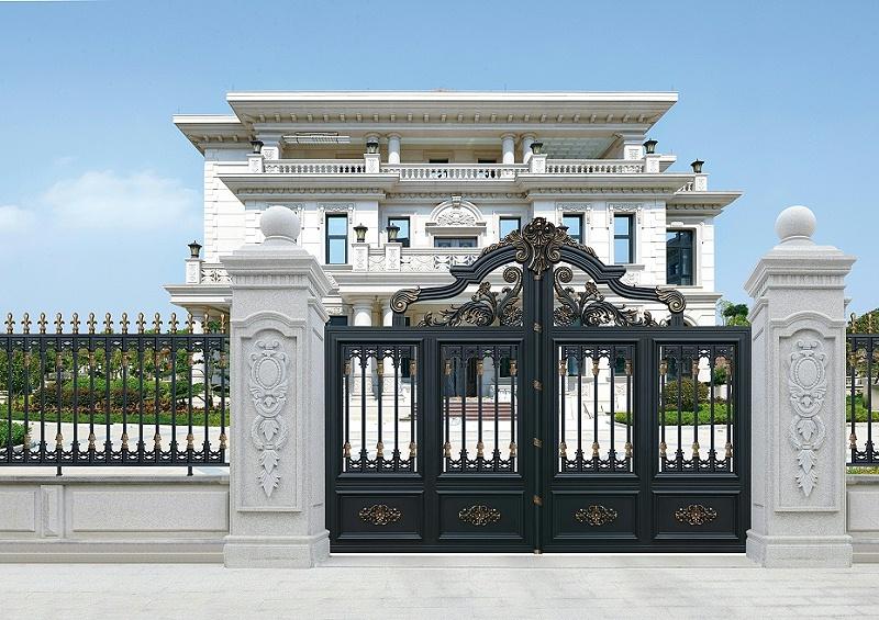 铝艺庭院大门