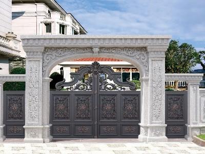 安装别墅庭院大门的方法有哪些?