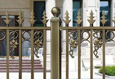 别墅围栏细节