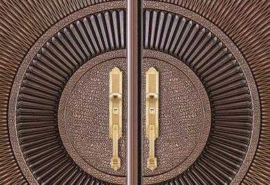 防爆铸铝门细节