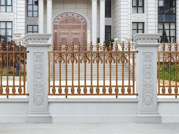 别墅院子护栏,厂家直销铝合金护栏