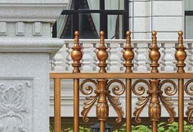 别墅院子护栏细节