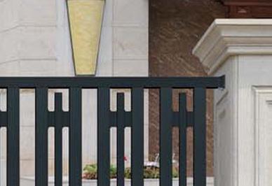 别墅围墙护栏细节