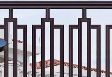 别墅阳台护栏细节