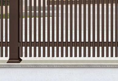 别墅庭院护栏细节