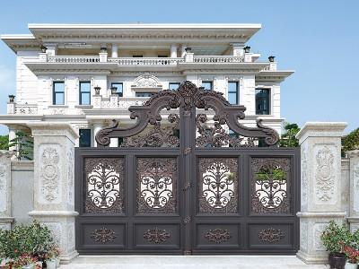 别墅大门这样设计就对了?