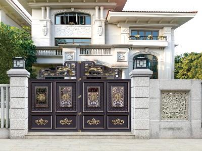 铝艺别墅门是否已经取代铜艺别墅门的市场的需求?